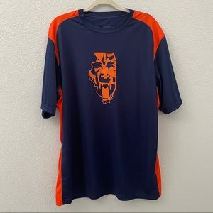 NWOT custom Chicago bears dry fit tee large
